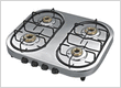 OVAL SHAPE FOUR BURNER GAS COOKTOP