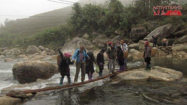 Trekking in northern Vietnam