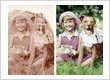 Restored and colourise a very damaged and faded photo
