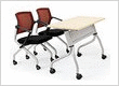 Training Room Folding table and Chairs for sale