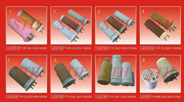 Leister Heater Import - Sintech - Electric Heater & Thermocouple Specialist