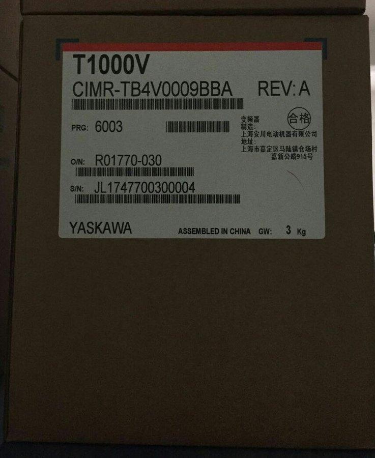 YASKAWA CIMR-TB4V0009BBA