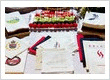 Custom printed beverage lunch and dinner napkins