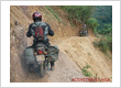 MOTORBIKE TRAVELLING IN MOUNTAINOUS AREAS IN VIETNAM