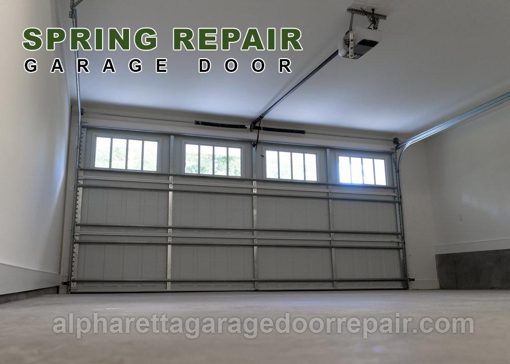Identifying Garage Door Spring Issues
