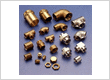 Brass central heating plumbing  and radiator accessories and fittings