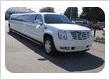 20-Passenger Cadillac Escalade Stretch SUV - White Limousine