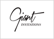 Giant Invitations