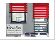 Creative Blinds and Shutters