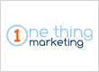 One Thing Marketing