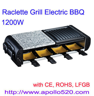 Offer Raclette Grill Electric BBQ for 8 persons