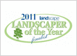 Finalist in 2011 Landscaper of the Year Award