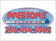 Preston's Plumbing and Drain Cleaning Service