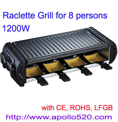 Offer Raclette Grill for 8 persons