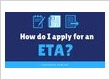 How do I apply for an ETA to Australia?