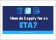 How do I apply for an ETA to Australia?