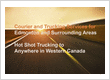 Courier and Trucking Services City-wide Edmonton and Hot Shots to Western Canada