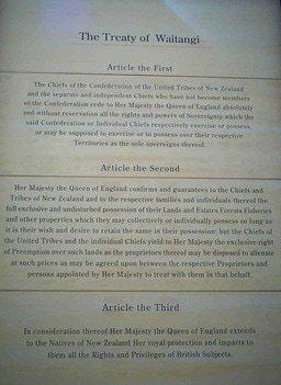 All About the Treaty of Waitangi / Все о договоре Вайтанги