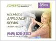 Laguna Hills Appliance Repair Experts