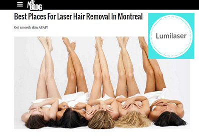 Lumilaser is one of the BEST PLACES in MONTREAL for LASER HAIR REMOVAL !