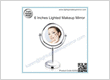 6 Inches Lighted Makeup Mirror