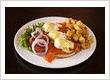 Eggs Benjamin breakfast