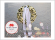 Sympathy Standing flower - Bunga Duka Krans