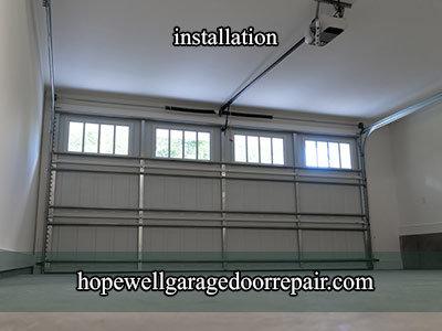 Hopewell Garage Door Installation