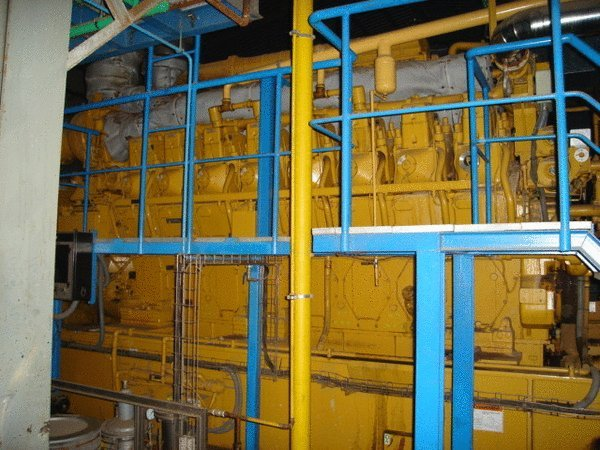 4500 KVA 3616 Caterpillar Gas Generator Set (Must go, quick sale)