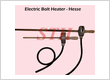 Jual Electric Bolt Heater HESSE - Sintech - Heating Element Specialist