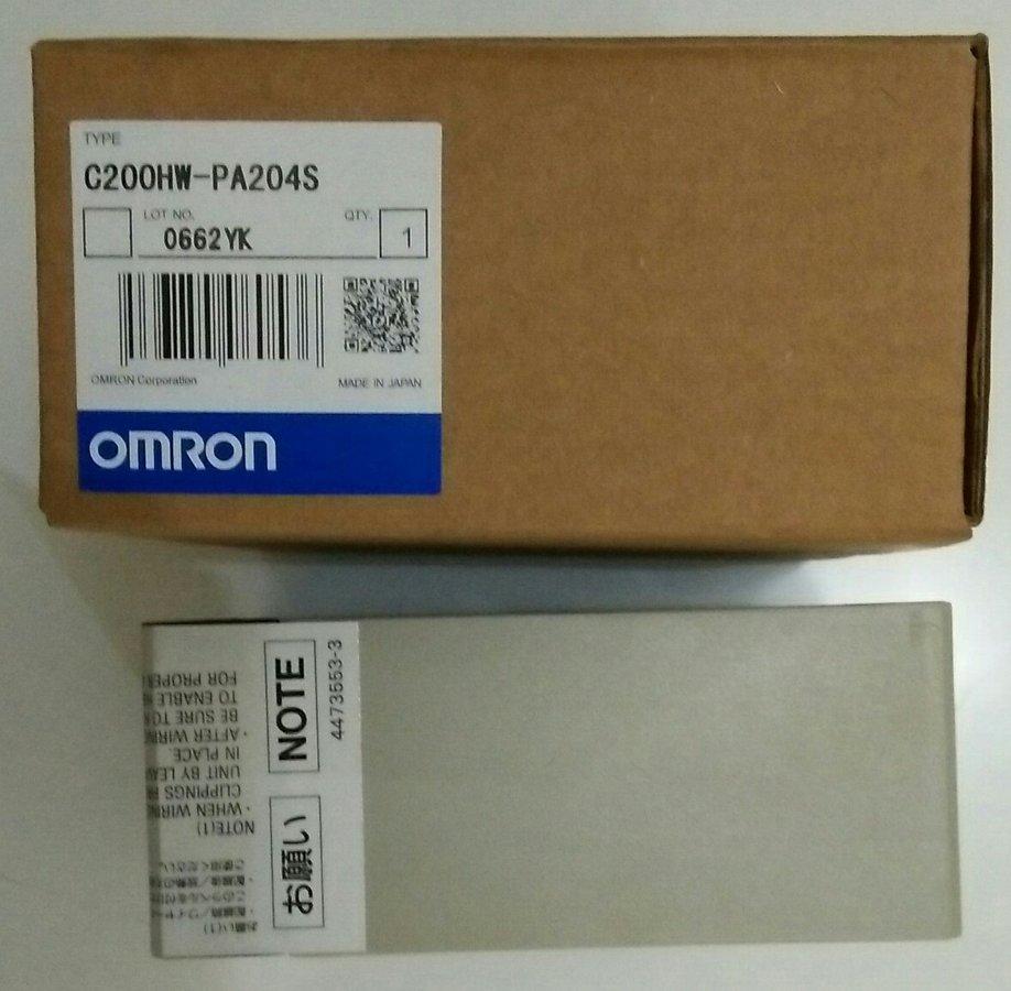 OMRON C200HW-PA204S