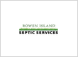 Bowen Island Septic Services