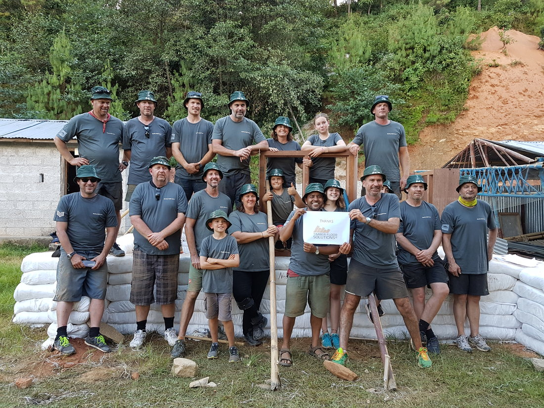 Rebuilding Nepal Schools, one Earthbag at a time