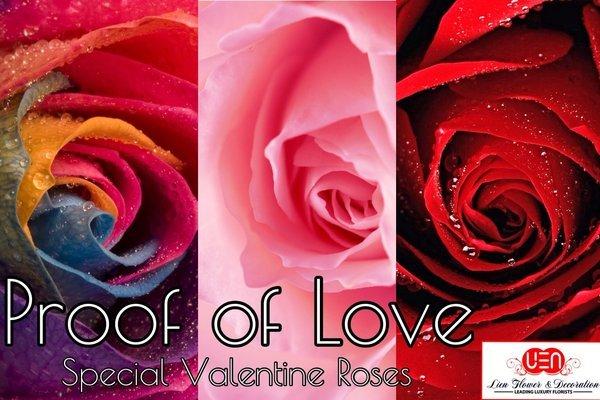 Earlybird - Valentine Roses Shopping 10% discount @Lien Flower Surabaya - Order your roses between 28 Jan & 7 Feb 2015: GET 10% off