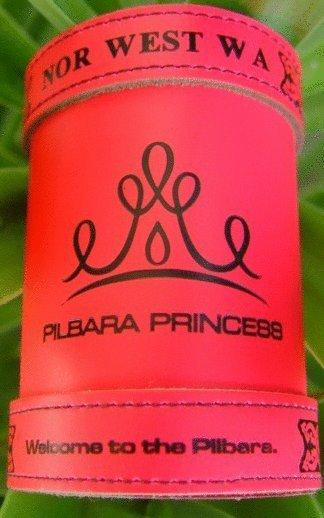 The new Pilbara Princess Pink Deluxe Stubbie Holder