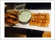 Appetite Catering Dublin Tandoori Chicken Skewers, Mint Yogurt and Foccacia