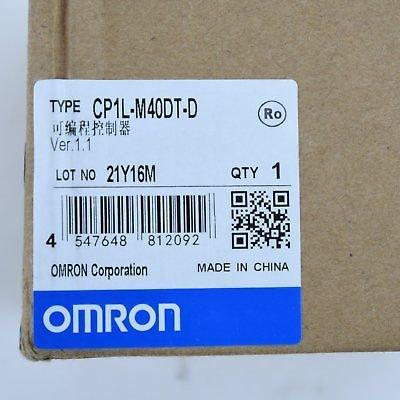 OMRON CP1L-M40DT-D