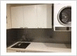 Acrylic laundry splashbacks