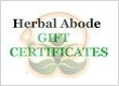 Now offering Gift certificates