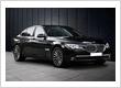 black BMW chauffeured cars melbourne