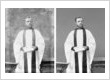 Restored faded photo of Church Leader