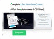 JudyMclane Uber Interview Course