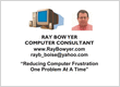 Ray Bowyer, Computer Consultant
