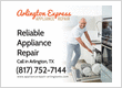 Arlington Express Appliance Repair