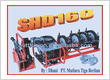 HYDRAULIC BUTT FUSION WELDING MACHINE SHD160