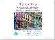 Shop cleaning services