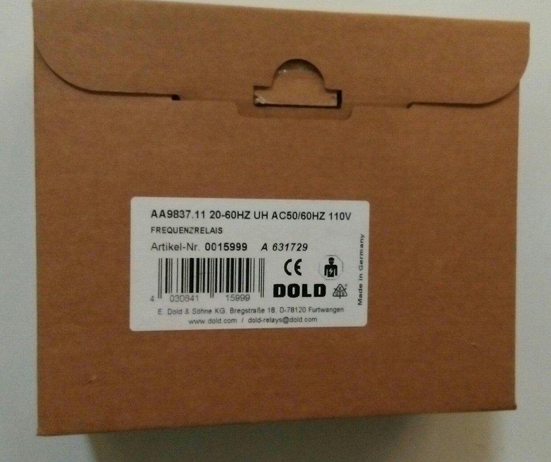 DOLD & SOHNE BA9053/010 230VAC 1-10A 0-20SEC