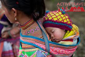 Showing its true colors of hill tribes Northern Vietnam