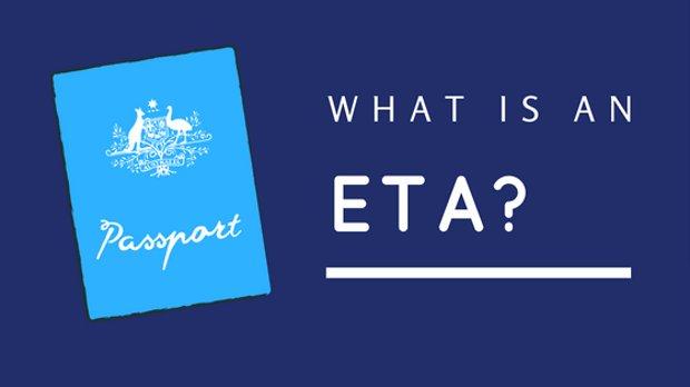 What is an ETA?