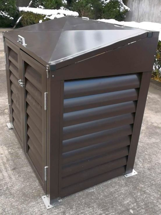 Rubbish (Wheelie) Bin Shed